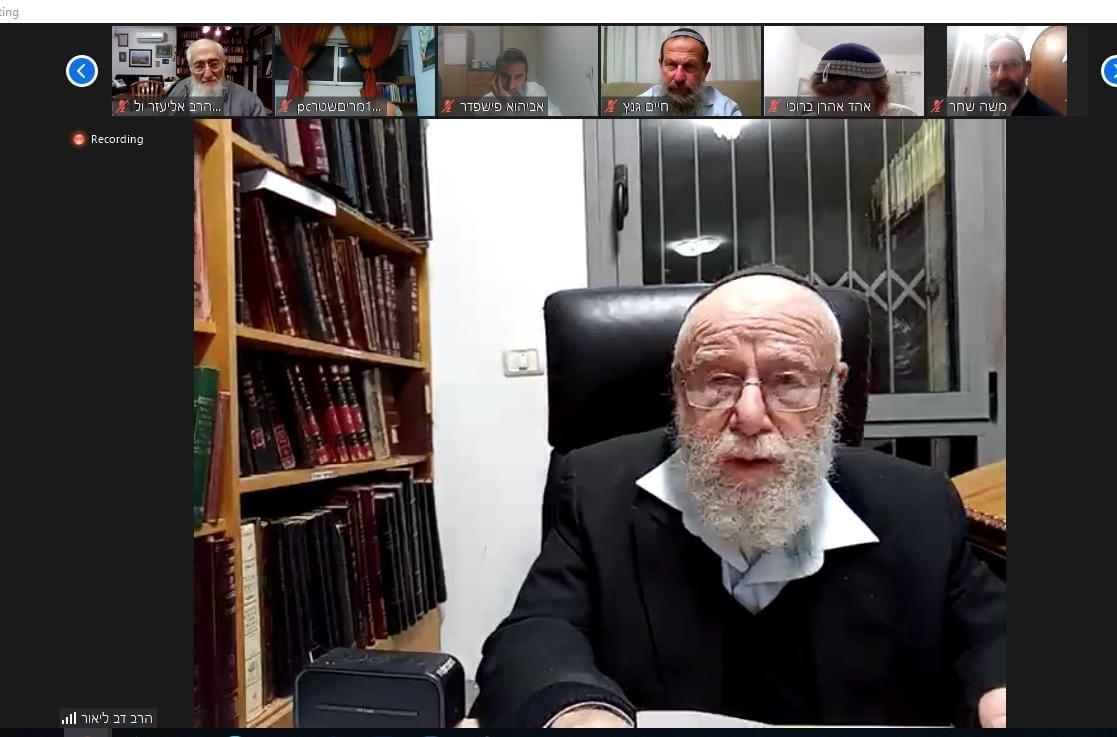 גדולי הרבנים בכינוס היסטורי- מתגייסים לסייע לחקלאות היהודית בשמיטה.
