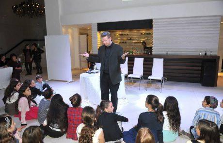 אמן חושים – אסף סלומון, אירועים לציבור הדתי/חרדי בבני ברק