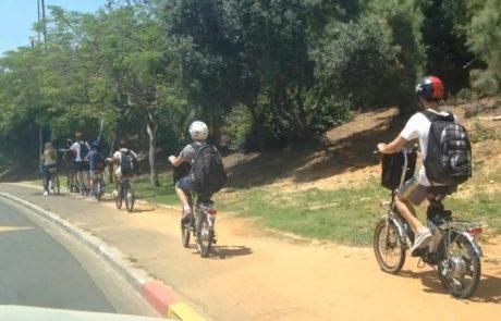 43 ילדים ובני נוער נפגעו בבני ברק כשרכבו על אופניים בעשור האחרון