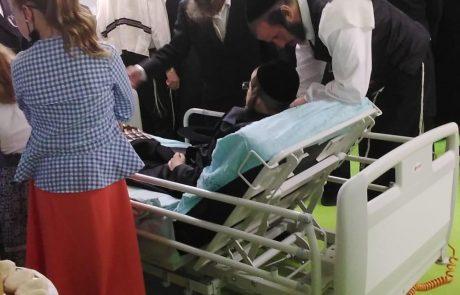 בית החולים וילף לילדים: בר המצווה המרגשת לנפגע קשה באסון בגבעת זאב